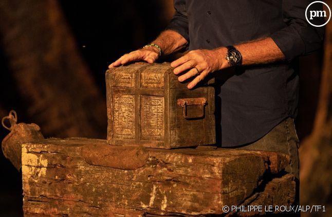 La fameuse urne contenant les bulletins de vote