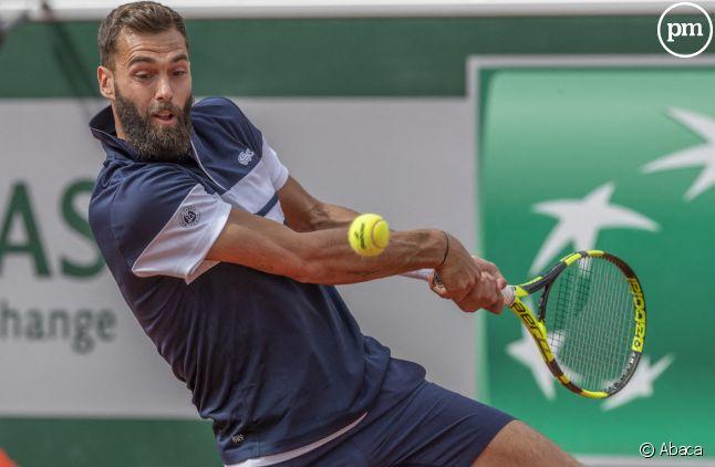 Benoît Paire à Roland Garros en mai 2019