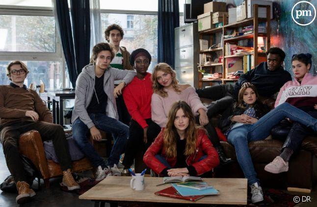 """Les héros de la saison 5 de """"Skam France"""""""