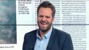 Fou rire dans la matinale de RMC Sport à cause d'un rugbyman presque nu