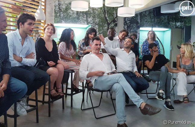 Comédiens et producteurs réunis vendredi dernier à Marseille