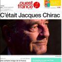 """Une de """"Ouest France"""" du 27 septembre"""