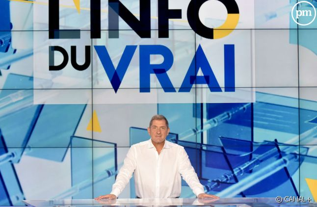 Yves Calvi sur Canal+