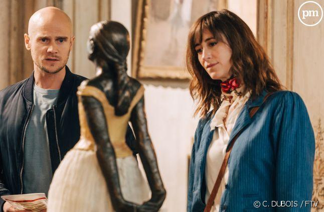 "Nicolas Gob et Elenore Bernheim dans ""L'art du crime"""