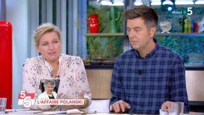 """Affaire Polanski : Anne-Elisabeth Lemoine justifie la non-diffusion de l'interview de Louis Garrel dans """"C à vous"""""""