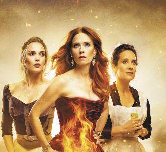Camille Lou, Audrey Fleurot et Julie de Bona dans 'Le...