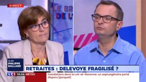 """""""C'est moi que vous traitez de Playmobil ?"""" : Gros clash entre un syndicaliste et une députée LREM sur LCI"""