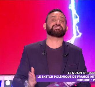 Cyril Hanouna agacé par un sketch de France Inter sur...