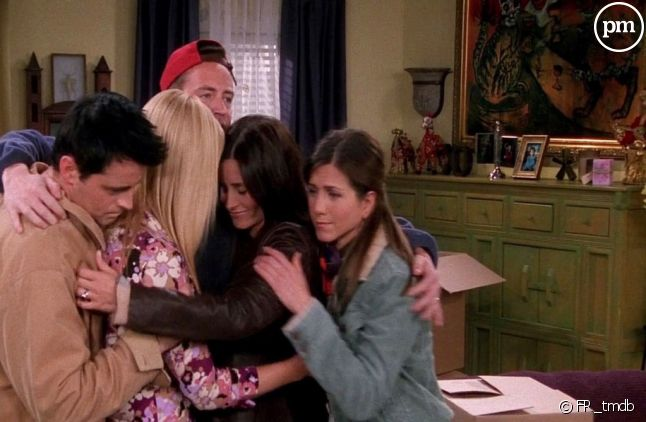 Matt Leblanc, Lisa Kudrow, Matthew Perry, Courteney Cox et Jennifer Aniston.