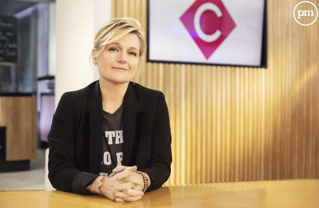 """Anne-Elisabeth Lemoine dans """"C à vous"""""""