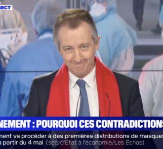 Les excuses de Christophe Barbier sur BFMTV