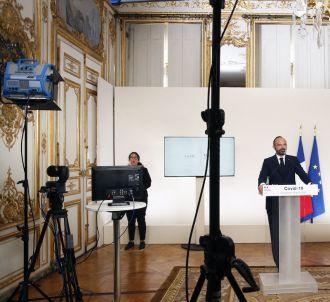 Le Premier ministre Edouard Philippe lors de sa...