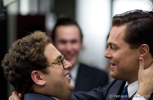"""Jonah Hill et Leonardo DiCaprio dans """"Le Loup de Wall Street"""""""