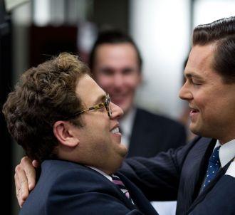Jonah Hill et Leonardo DiCaprio dans 'Le Loup de Wall...