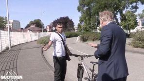 """""""Quotidien"""" : Un journaliste et un élu caillassés en pleine interview à Strasbourg"""