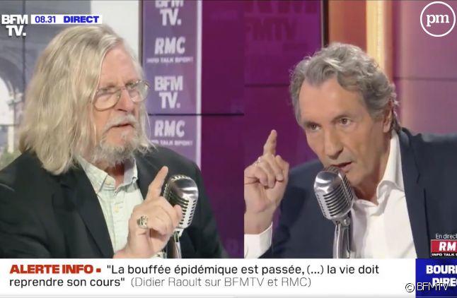 Didier Raoult face à Jean-Jacques Bourdin