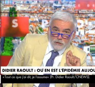 Pascal Praud rend hommage à Bernard Debré sur CNews