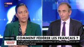 """""""On peut être français en mangeant du couscous ?"""" : L'étrange question de Christine Kelly à Eric Zemmour sur CNews"""