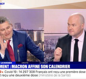 Vaccination : Face à face tendu entre Philippe Corbé et...