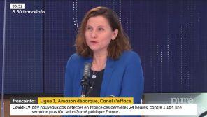 """Retrait de la Ligue 1 : Roxana Maracineanu tacle Canal+ et """"la guerre des ego"""""""
