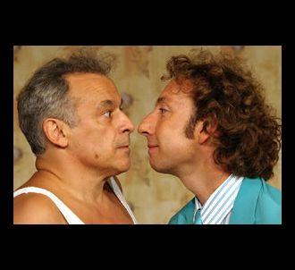 Francis Perrin et Stéphane Bern jouent dans la pièce...