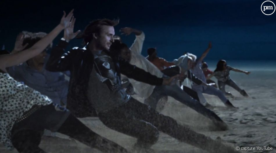 "David Guetta dans le clip de ""Little Bad Girl"""