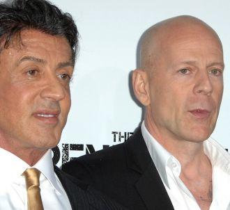 Sylvester Stallone et Bruce Willis
