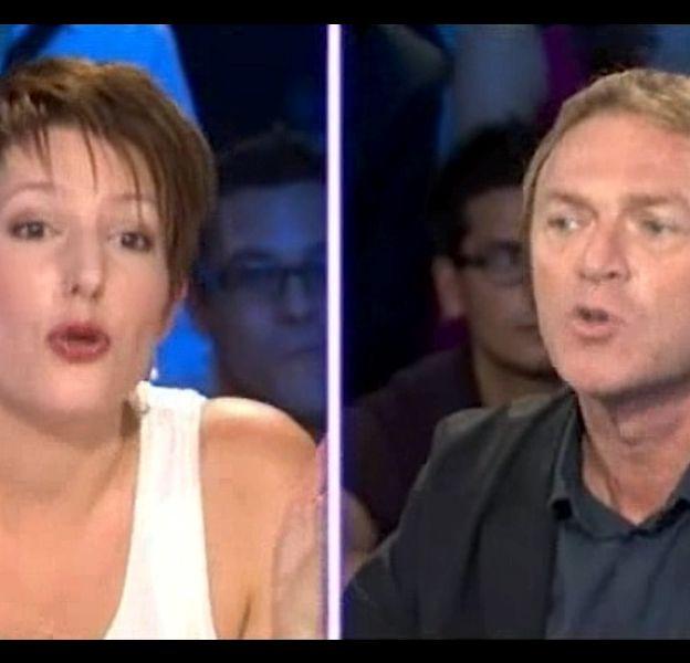 """Natacha Polony face à Christophe Hondelatte dans """"On n'est pas couché"""""""