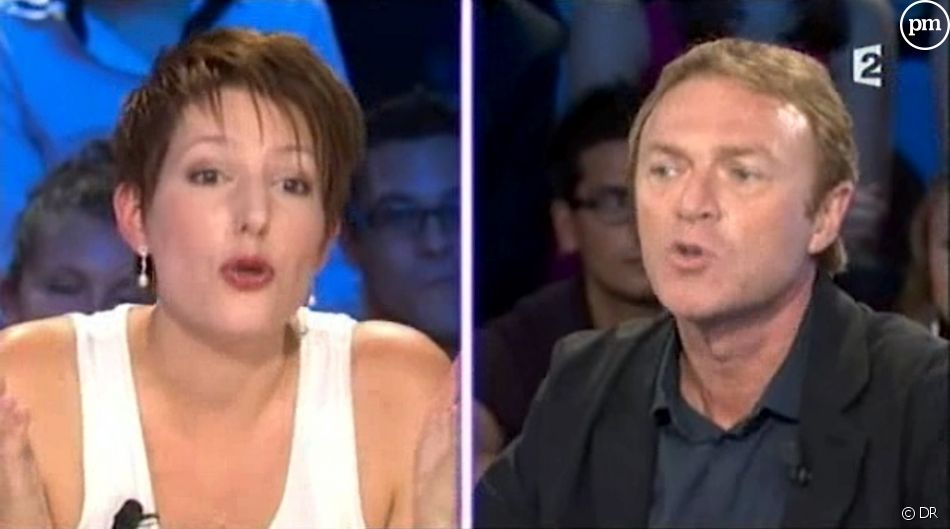 "Natacha Polony face à Christophe Hondelatte dans ""On n'est pas couché"""