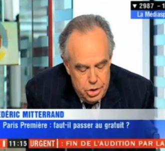 Invité de LCI le 30 septmebre 2011, Frédéric Mitterrand...
