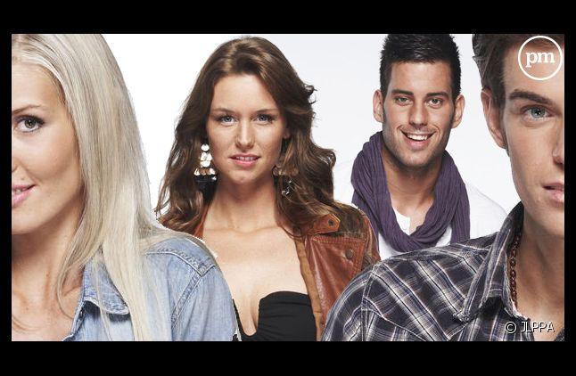 """Marie, Aurélie, Zelko et Geoffrey, les finalistes de """"Secret Story 5"""""""