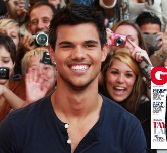 Taylor Lautner en couverture de GQ Australie