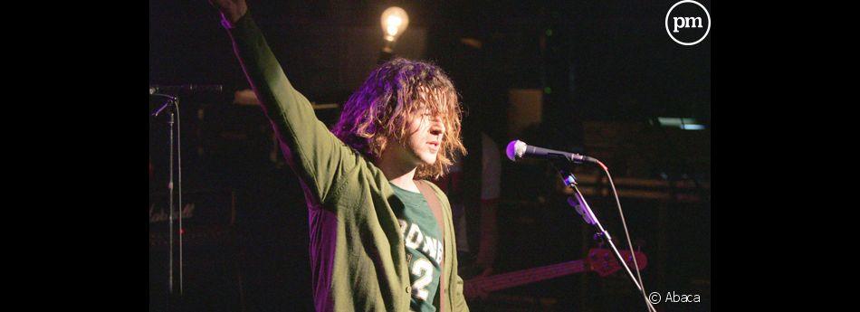 Steeve Estatof, gagnant de Nouvelle Star en 2004.