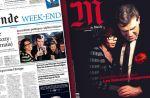 Le couple Audrey Pulvar/Arnaud Montebourg à la Une du Monde