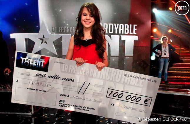 "Marina, gagnante de ""La France a un Incroyable Talent"" saison 6"