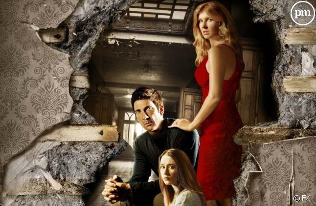 "Affiche promotionnelle pour ""American Horror Story"""
