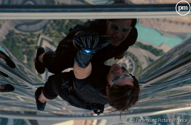 "Tom Cruise dans ""Mission : Impossible - Protocole Fantôme"""