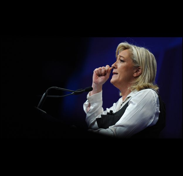 Marine Le Pen, candidate à la présidentielle.