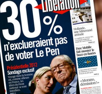 La Une de Libération du 9 janvier 2012.