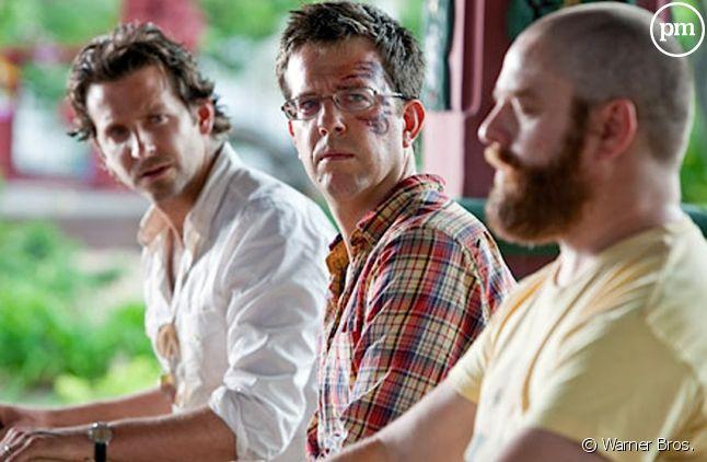 "Bradley Cooper, Ed Helms et Zach Galifianakis dans ""Very Bad Trip 2"""