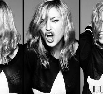 Madonna sur la pochette de 'Give Me All Your Luvin'
