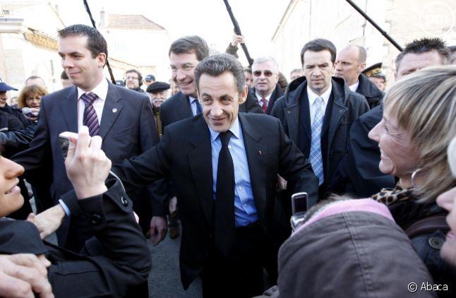 Nicolas Sarkozy, en 2008.