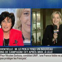 Zapping : Marine Le Pen fait son show sur les chaînes info