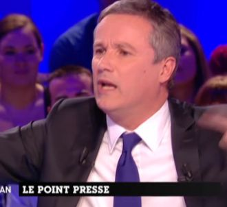 Nicolas Dupont-Aignant, invité du 'Grand Journal' de...