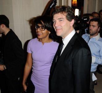 Audrey Pulvar et son compagnon Arnaud Montebourg.