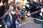 JDC-12 : Martine Aubry confisque un micro à un journaliste, A droite toute pour Nicolas Sarkozy
