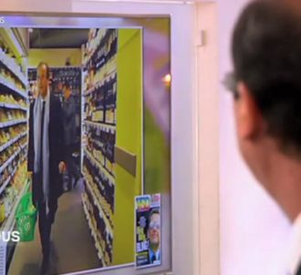 Les photos au supermarché.
