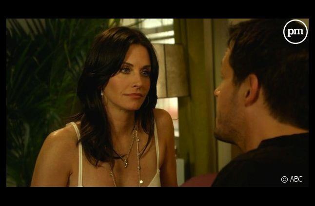 """Courteney Cox et Josh Hopkins dans """"Cougar Town"""""""