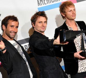 Les trois membres du groupe Muse