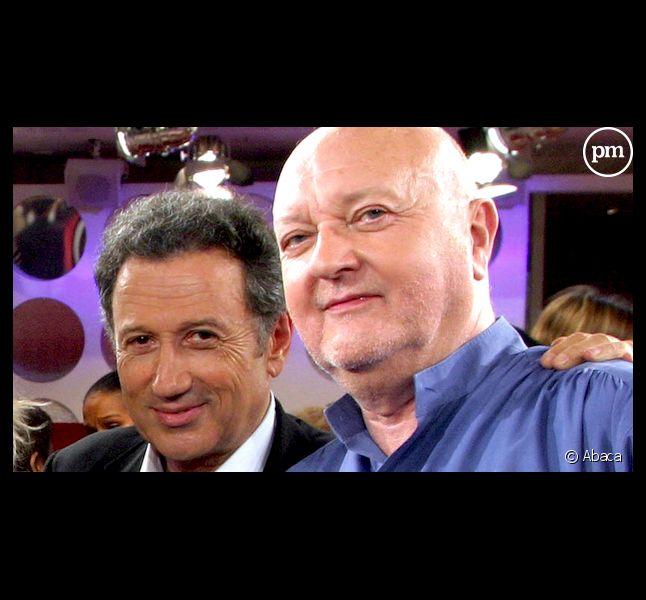 Michel Drucker et Jean-Pierre Coffe